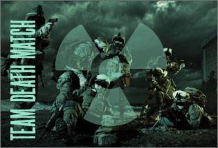 Team Deathmatch graphic for Conflict Paintballl
