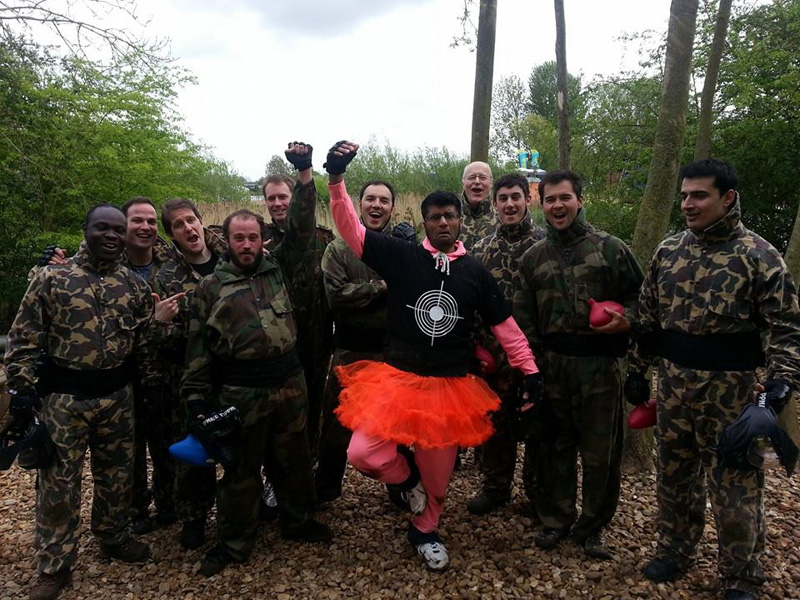 Conflict Paintball - Grendon Lakes